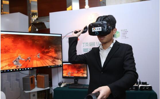 """年终献礼_华渔携多种""""VR+""""产品引爆教育热潮"""